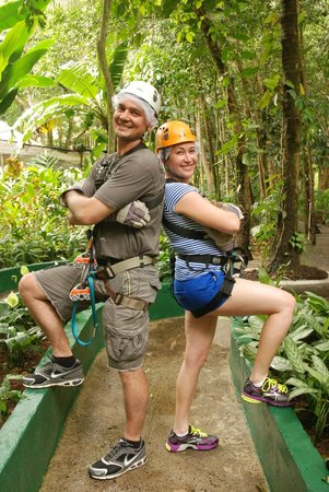 Treetop Adventure Park: Photo Shoot in our Garb!