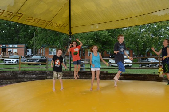 Harpers Ferry KOA: The beloved jumping pillow