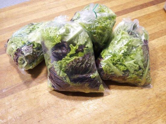 Pizza and Poutine Company: Fresh Island Greens From Cranbush Farms
