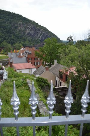 Harpers Ferry KOA: View of Harpers Ferry National Park from church
