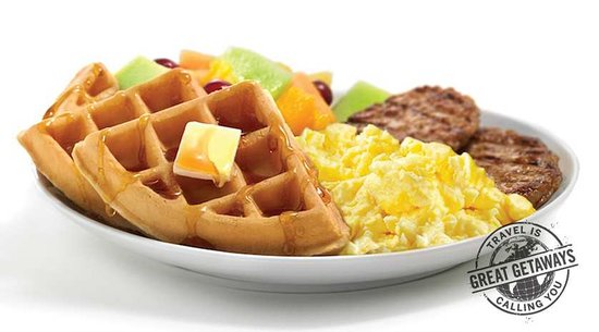 Hampton Inn Port Charlotte / Punta Gorda: Complimentary Breakfast