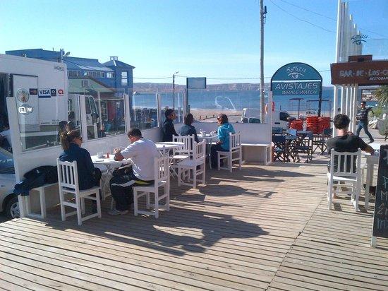 Hosteria Puerto Palos: cafeteria de la posada