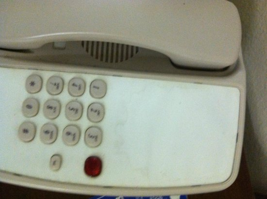 Extended Stay America - Detroit - Canton: Telephone on nightstand