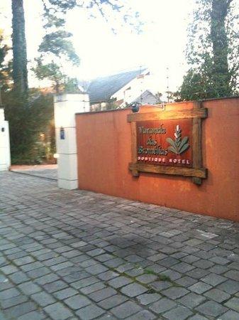 Boutique Hotel Varanda das Bromelias: entrada