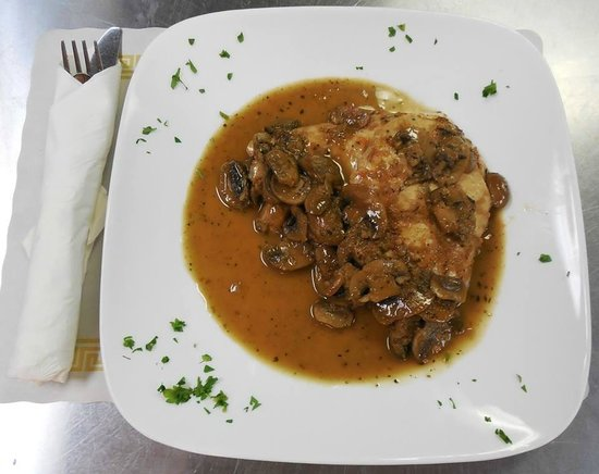 Canby's on Cricket: Chicken Marsala - yum!