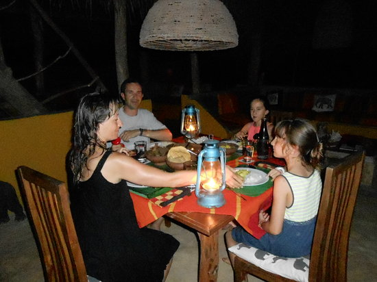 Kumbura Eco Lodge: KUMBURA EVENING MEAL