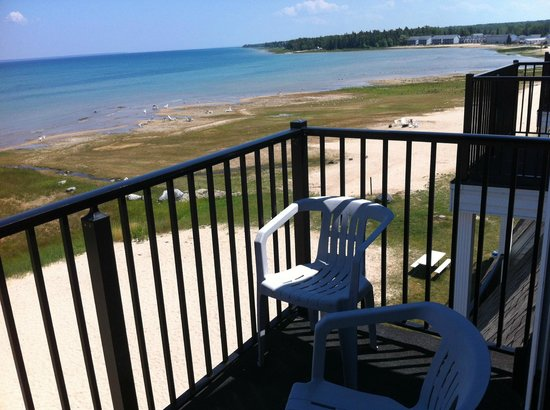 Quality Inn & Suites Beachfront: balcony