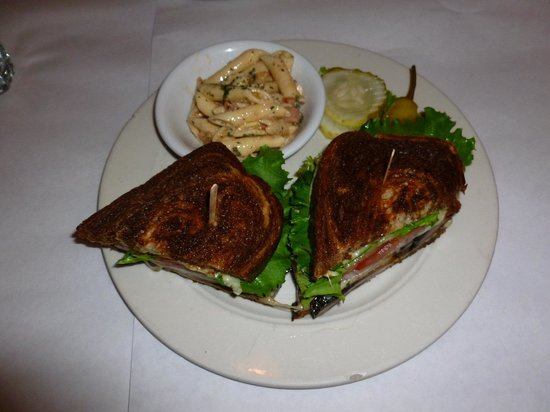 Cirinos At Main Street: Portabello Mushroom Sandwich