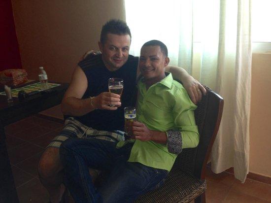 Gabi Beach : Roberto The Best Bartender on the world!!!!