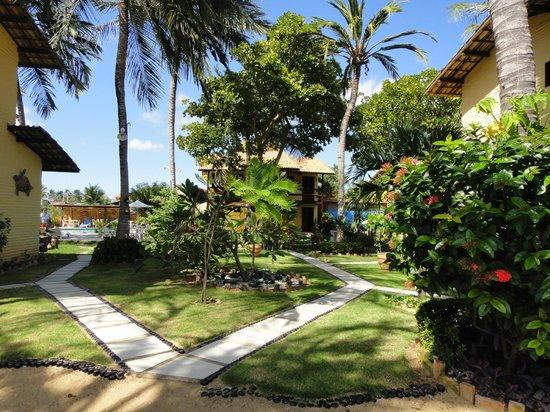 Pousada do Paiva : Jardins da pousada bem bonitos