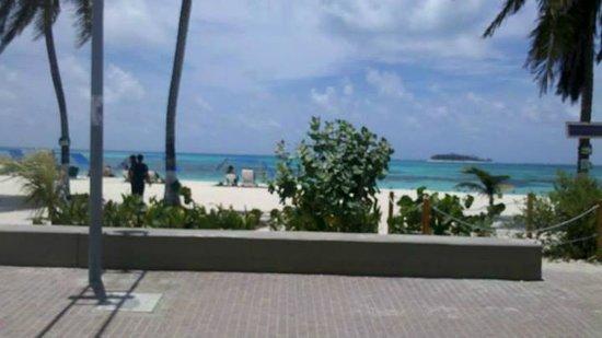 Portobelo Beach: saindo do hotel