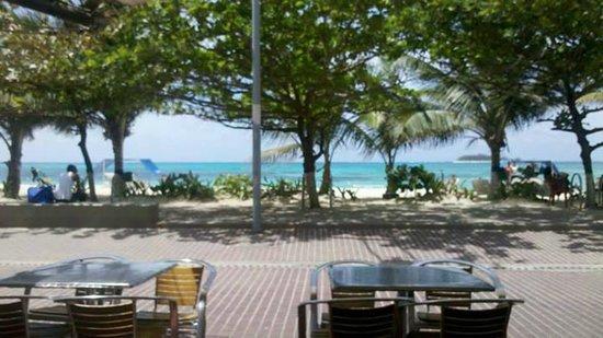 Portobelo Beach: na frente do hotel