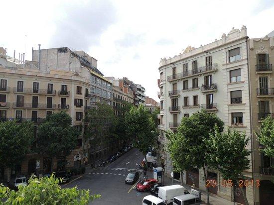Hotel Aranea: Vista da janela do quarto do hotel.