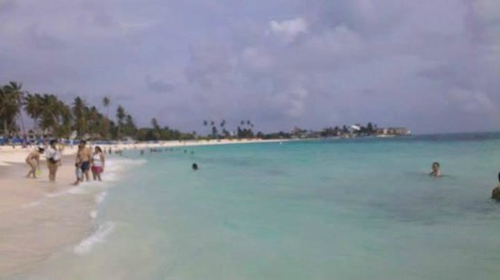 Portobelo Beach : praia na frente do hotel