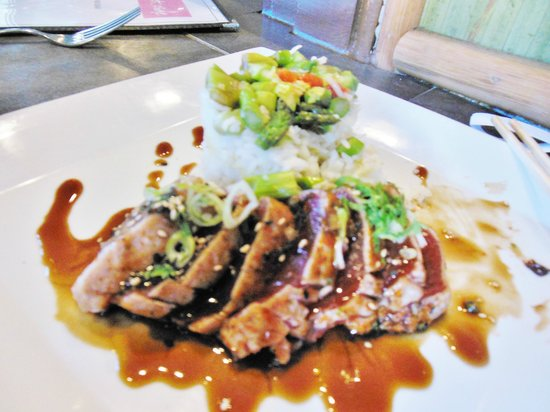 The Eastside cafe : Daily Special - Ahi