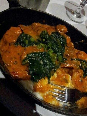 Besh Steakhouse at Harrah's: shrimp and grits