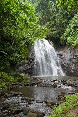 Savasi Island Villas: Waterfall