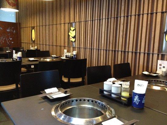Gyu Ichi Yakiniku and Japanese Restaurant: Ready for yakiniku!