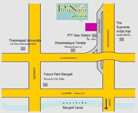 Punnara Boutique House : แผนที่