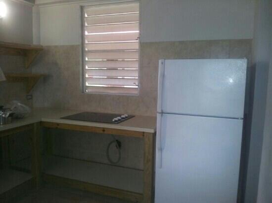 Centro Vacacional Villas de Anasco: cocina