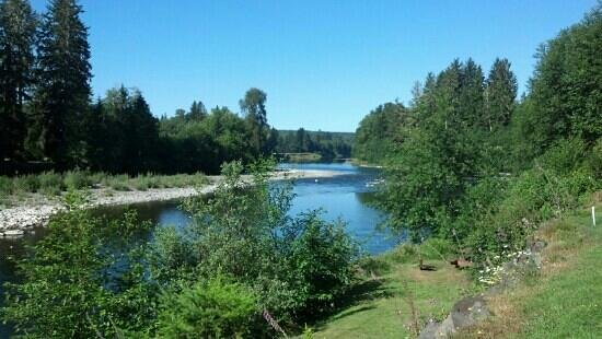 Quillayute River Resort: river view
