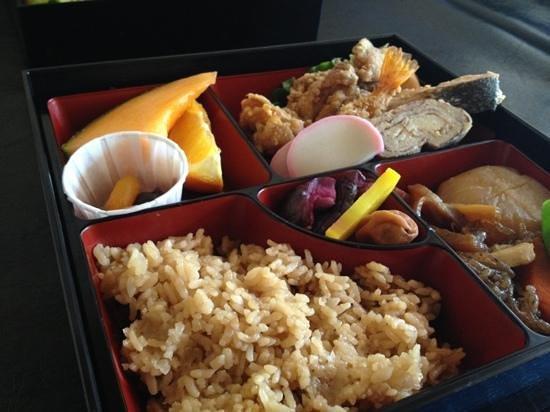 Redheads Japa Cafe: bento box