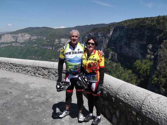 Velo Vercors : All downhill from here!
