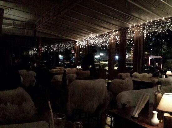 Fornellone: Interior, no inverno.
