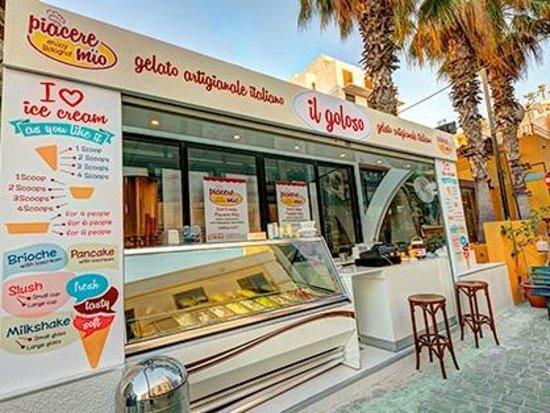Piacere Mio Ristorante & Gelateria : Il vero gelato tradizionale italiano