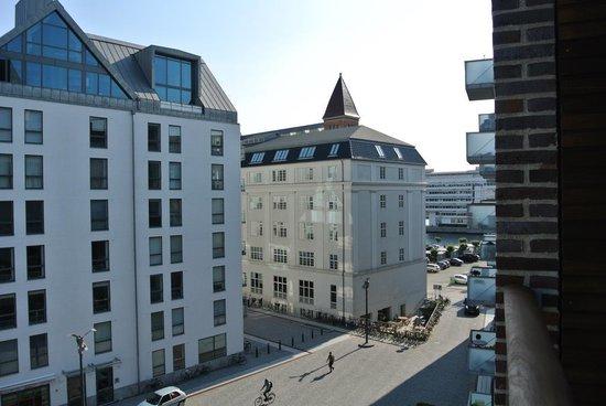 Adina Apartment Hotel Copenhagen : View from our balcony