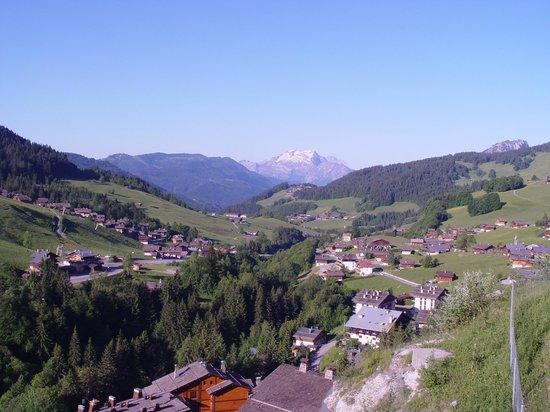 Residence CGH Le Village de Lessy: Vue depuis la terrasse