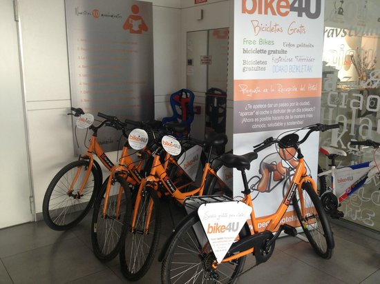 Hotel Bed4u Pamplona : Bike4U