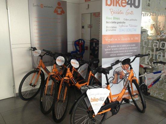 Hotel Bed4u Pamplona: Bike4U