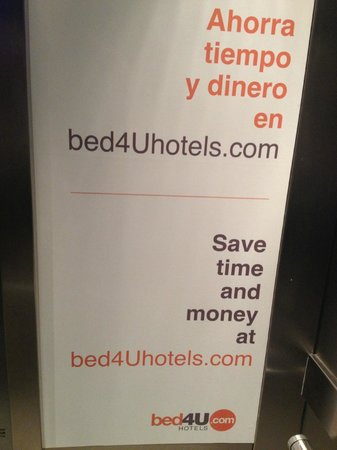 Hotel Bed4u Pamplona : Contact details