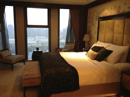 Sofitel Wanda Beijing : Junior suite bedroom