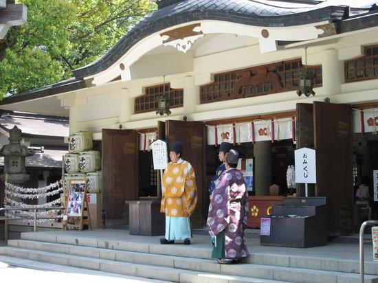 Kato Shrine: 拝殿