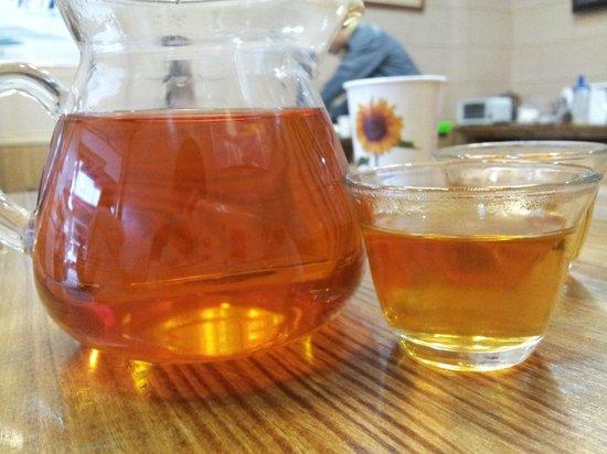 Dream House B&B: delicious black tea
