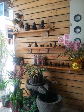 Dream House B&B: reception area