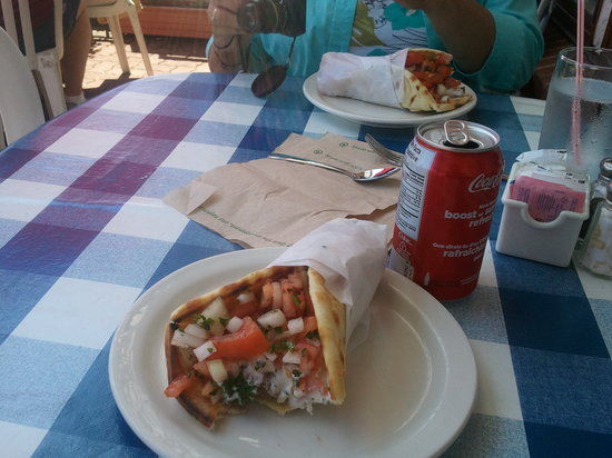 Maria's Souvlaki & Greek Snack : Lamb souvelaki