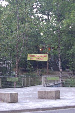 Crapahut Parc Aventure: entrée du crapahut parc