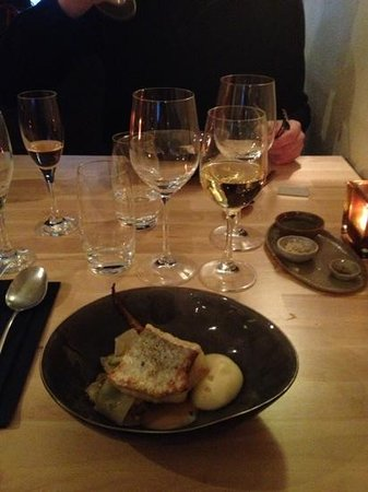Restaurant Eendracht : poisson, miso, ...