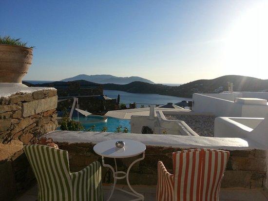 Liostasi Hotel & Suites: θέα απο το δωματιο