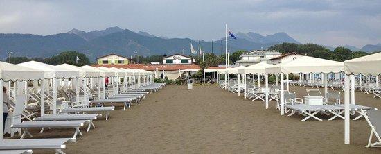 View from beach - Picture of Gilda, Forte Dei Marmi - TripAdvisor