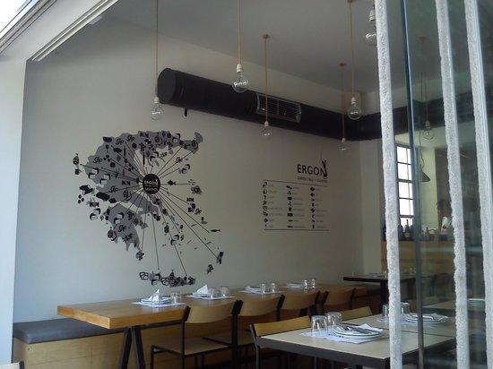 Ergon Greek Deli + Cuisine: Τόπος προέλευσης των προϊόντων....