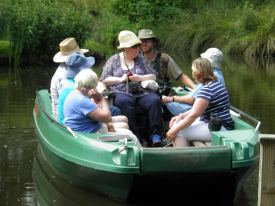 WWT Martin Mere Wetland Centre: Boat ride 1