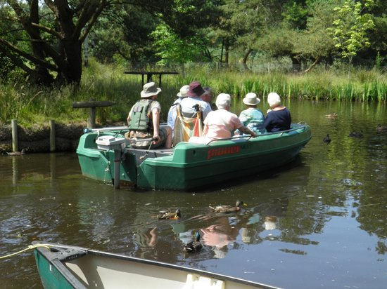 WWT Martin Mere Wetland Centre: Boat ride 3
