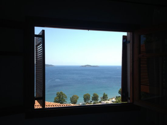 Villa Athena: View from our room