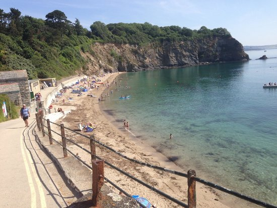 Porthpean Beach : Crystal clear