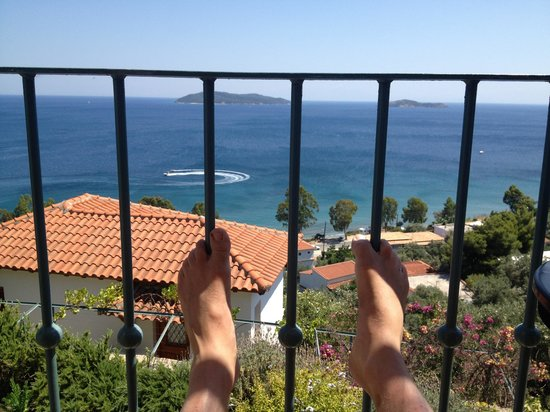 Villa Athena: Lazy Day on the balcony