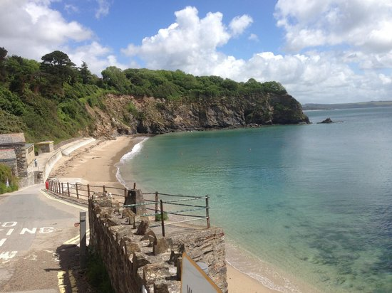 St Austell, UK: Safe sheltered cove